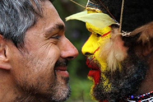 papua face to face