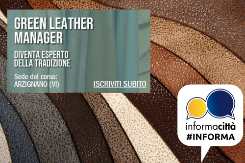green leather manager